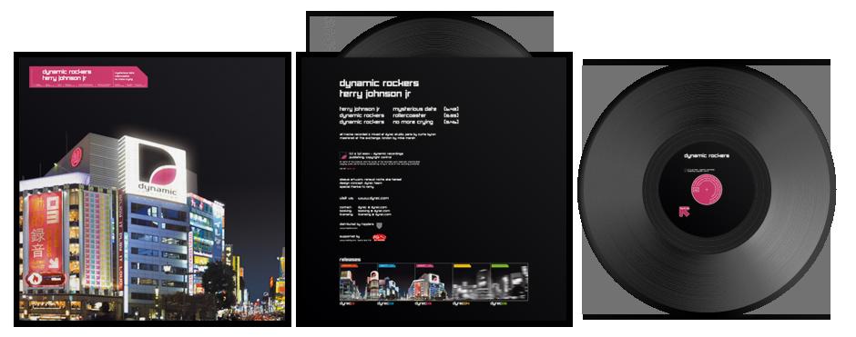 DYREC 03 / Dynamic Rockers - Mysterious Date EP