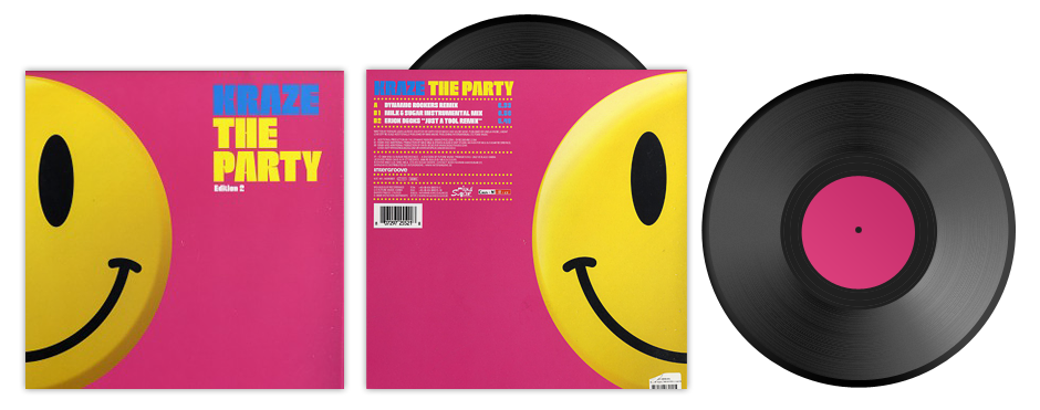 MILK095R / Kraze – The Party (Remixes)