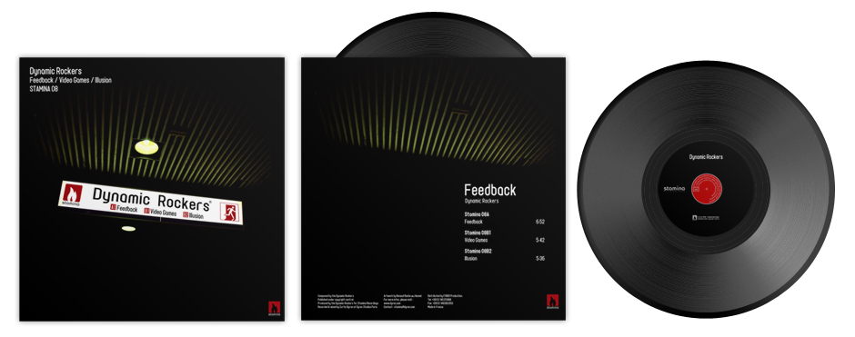 STAMINA 08 / Dynamic Rockers – Feedback EP